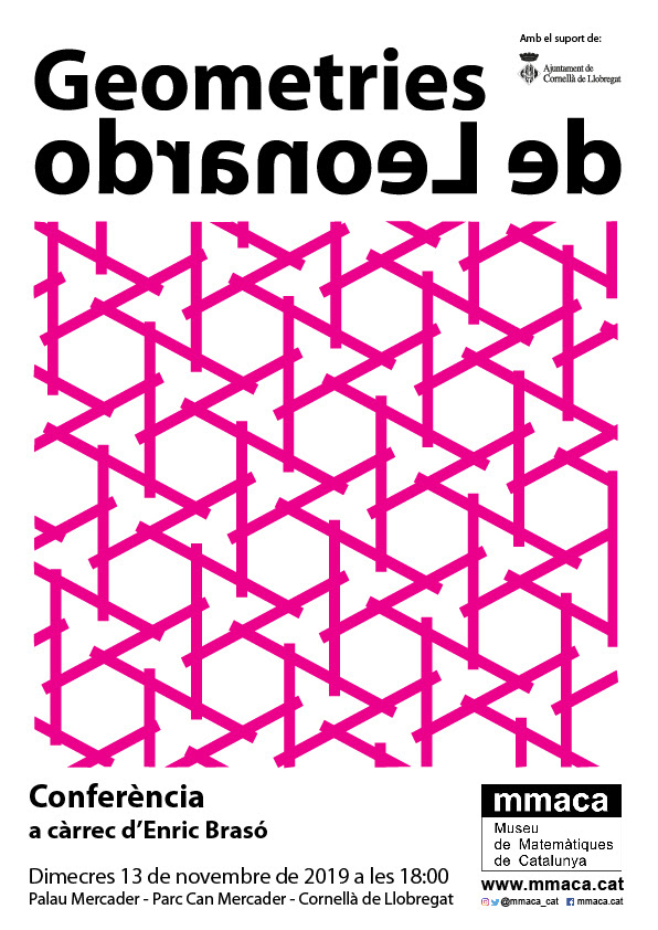 cartell GEometries de Leonardo