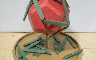 El dual del dodecaedre regular