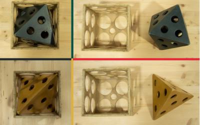 Encaixar poliedres